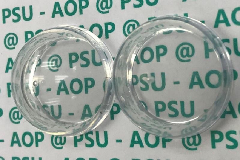 استفاده از پوشش ضدانعکاس برای نامرئی کردن پلاستیک