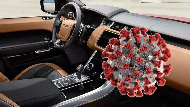 گرمای داخل خودرو کروناویروس را از بین می برد